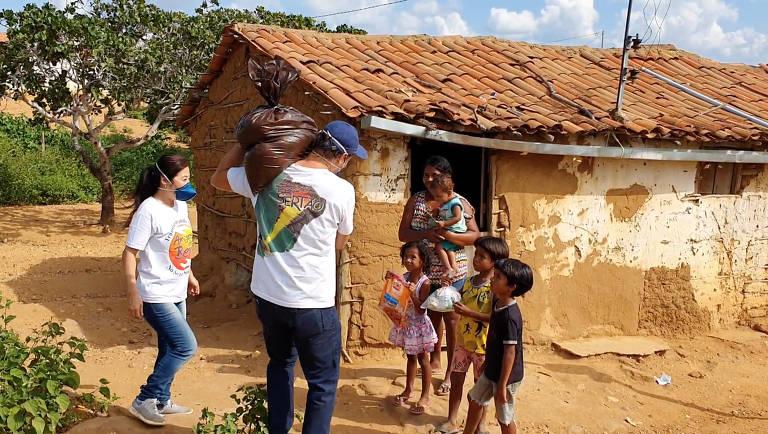 Amigos do Bem distribui 200 mil cestas em 300 povoados na pandemia