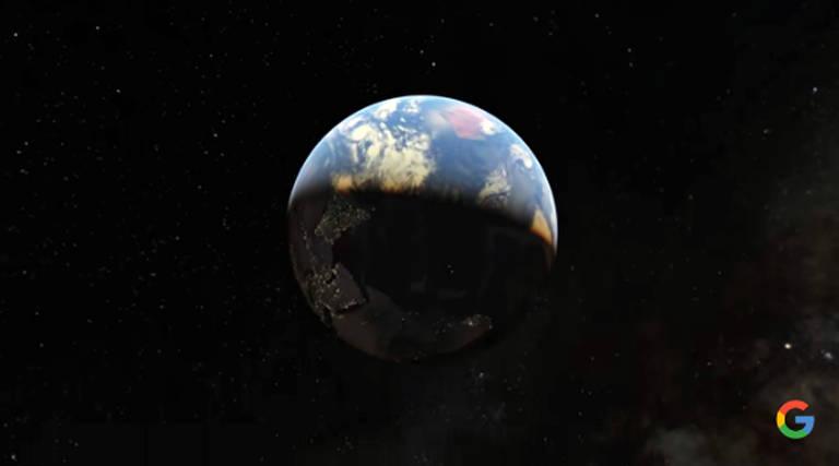 Agora você pode viajar no tempo com o Google Earth