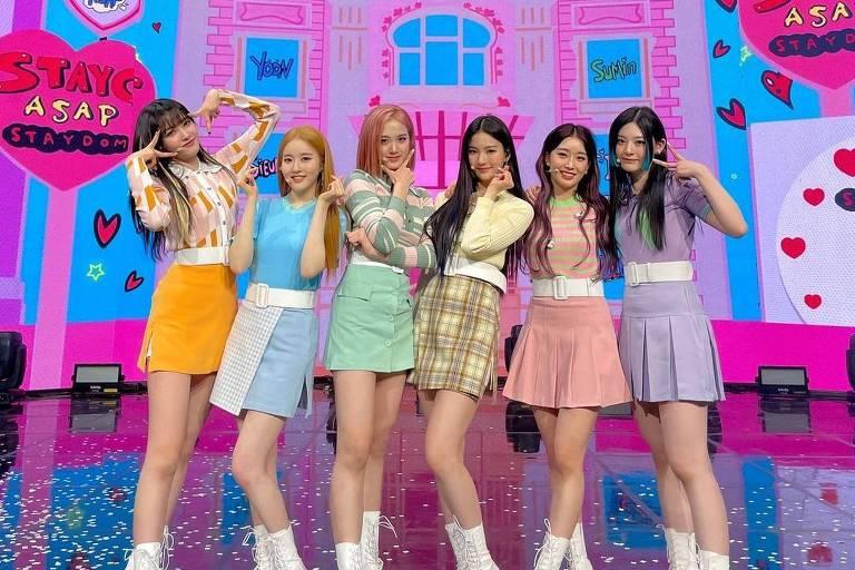 Grupo de k-pop Stayc
