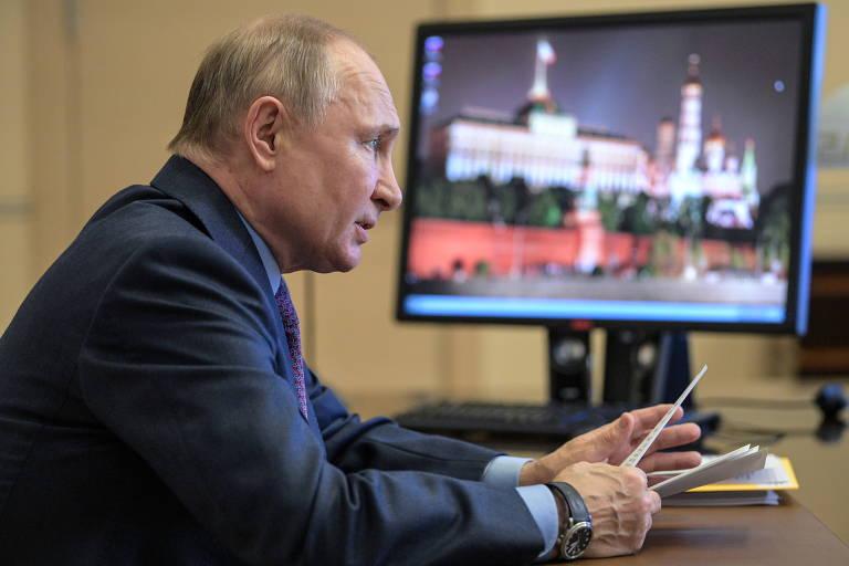 Rússia inicia retaliação contra sanções determinadas por Biden
