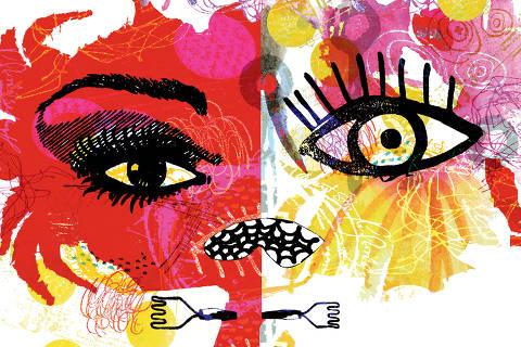 Desenhos de Hilda Hilst para o livro