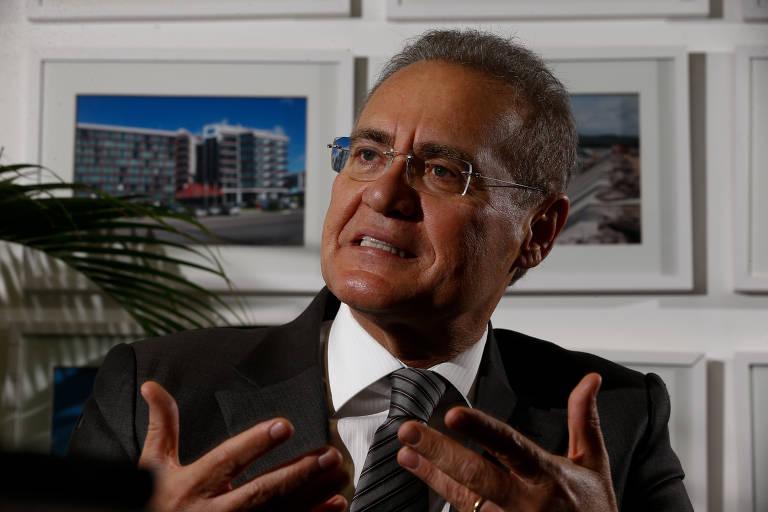 Este é o senador Renan Calheiros, relator da CPI da Covid