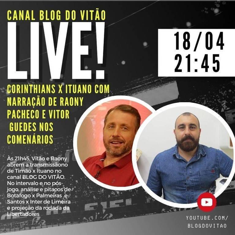 Banner do blog Caneladas do Vitão