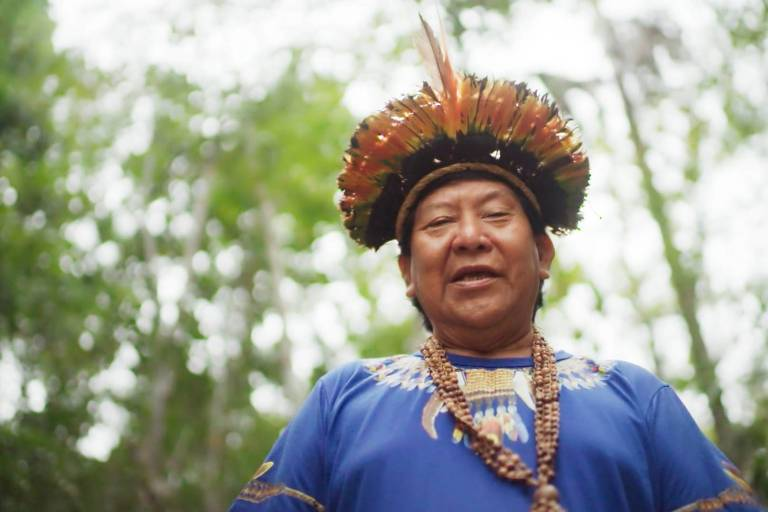 Davi Kopenawa Yanomami - Falas da Terra