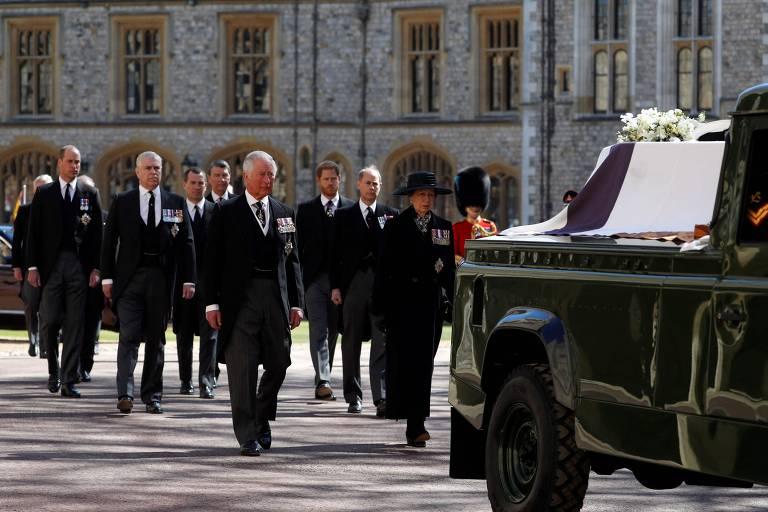 O funeral do príncipe Philip