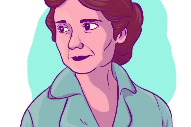 Ilustração de cientista
