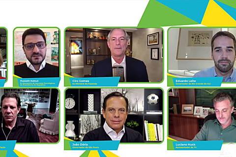 Em debate, presidenciáveis atacam Bolsonaro, apontam retrocessos e indicam prioridades durante e pós pandemia