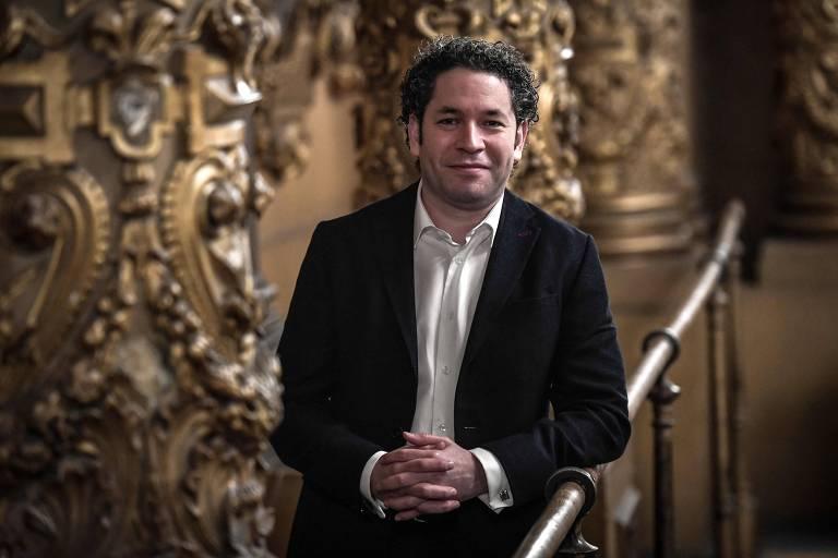Venezuelano Gustavo Dudamel é o novo diretor musical da Ópera de Paris