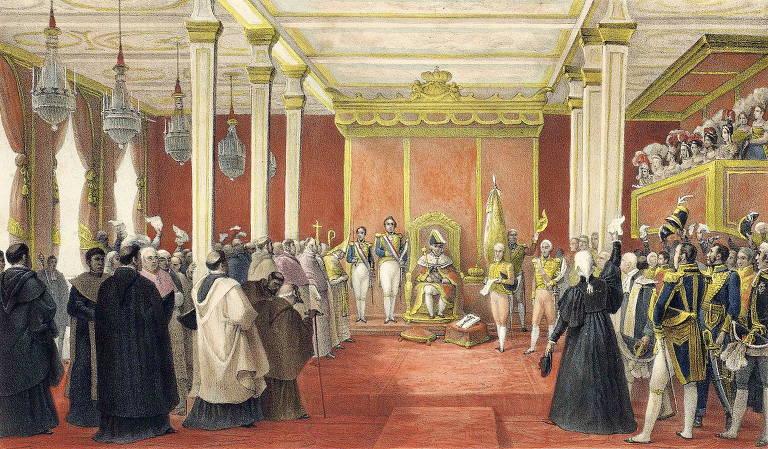 Há 200 anos família real portuguesa deixava o Brasil