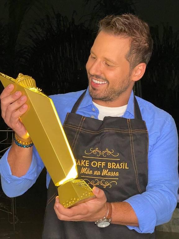 Bake Off Celebridades, final, com Dony De Nuccio