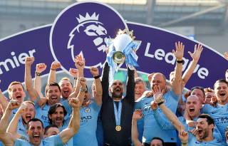 FILE PHOTO: Premier League - Brighton & Hove Albion v Manchester City
