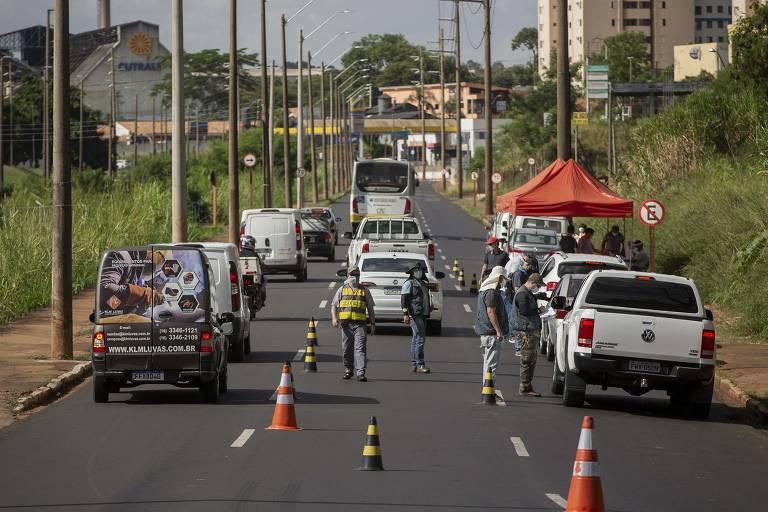 Controle em Araraquara