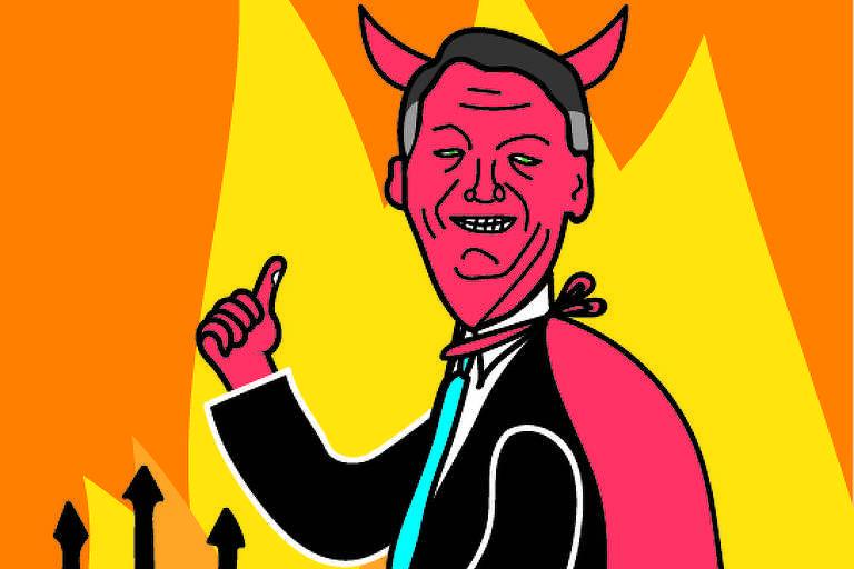 Satã afirma que está prestes a processar Bolsonaro por plágio e deseja boa sorte