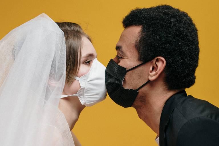 Noivos na pandemia