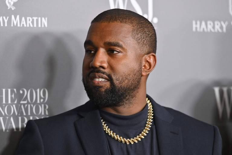 Rapper norte-americano durante evento no MoMA, em Nova York