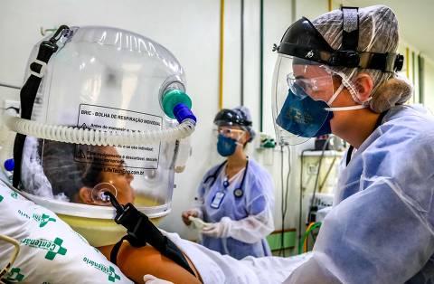 País registra 1ª morte por reinfecção de Covid-19 com variantes brasileiras