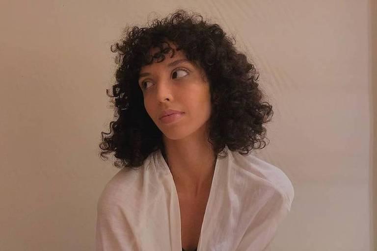 A atriz Agnes Brichta, filha do ator Vladimir Brichta