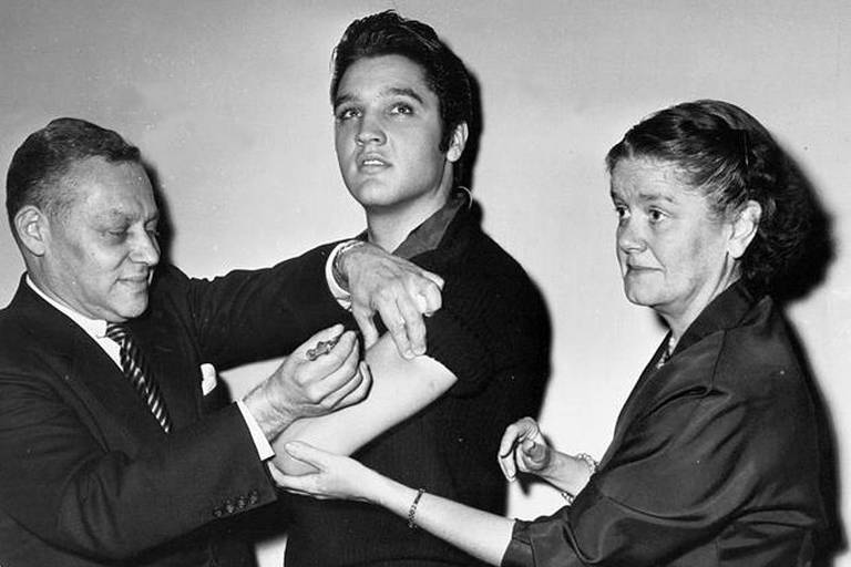 A vida de Elvis Presley