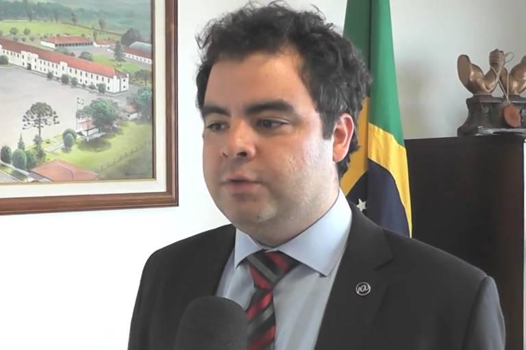 O procurador Tamoio Athayde Marcondes, que assume a Funarte