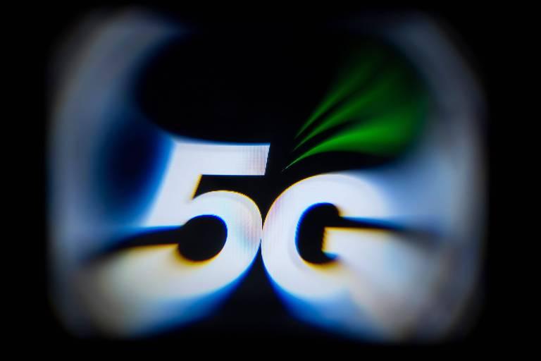 Logotipo da tecnologia 5G