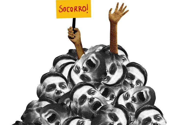 Não falar de Bolsonaro é impossível, mas falar dele é insuportável