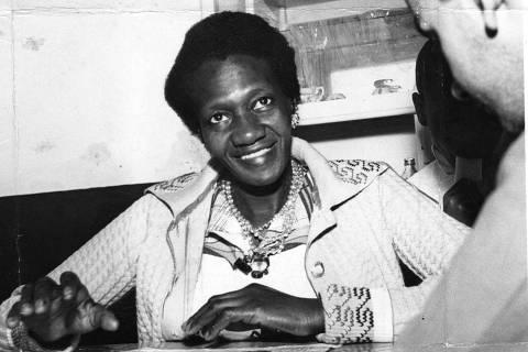 ORG XMIT: 595701_0.tif Literatura: a escritora brasileira Carolina Maria de Jesus. (18.11.1960. Foto: Acervo UH/Folhapress)