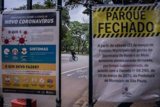 PARQUES DE SP FECHADOS