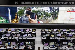 CÃMERAS POLICIA MILITAR