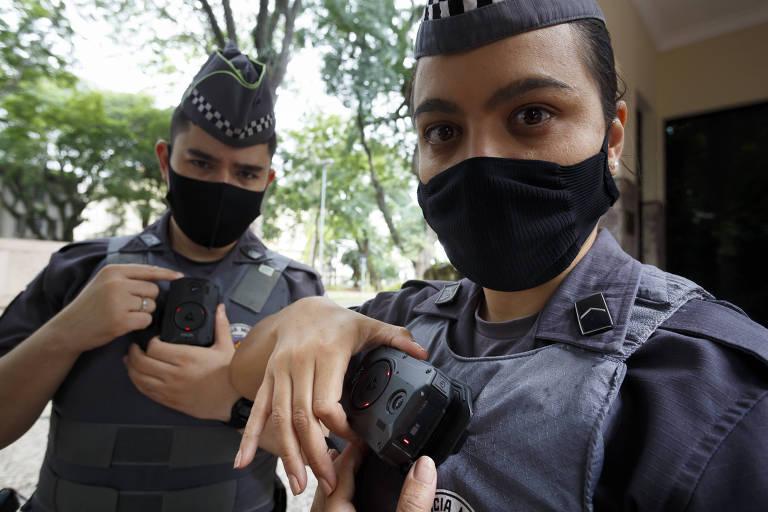 Policiais da Rota passarão a usar câmeras 'grava tudo' na roupa -  21/04/2021 - Cotidiano - Folha