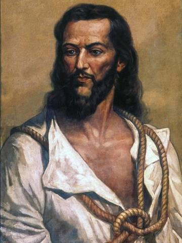 Retrato de Joaquim José da Silva Xavier - Tiradentes