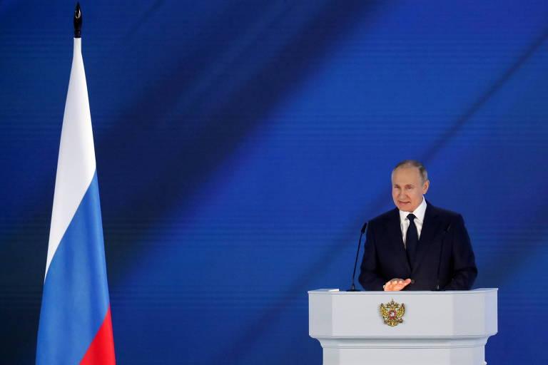 Putin ameaça Ocidente com 'resposta rápida e dura' na crise da Ucrânia