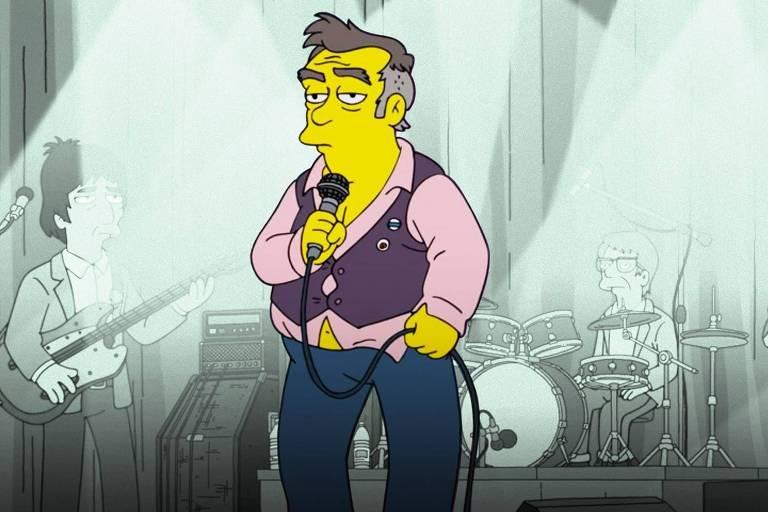 Personagem de 'Os Simpsons' que seria inspirado em Morrissey