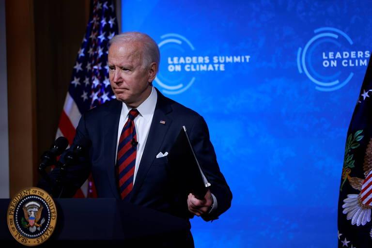 Na cúpula de Biden houve só a parte inútil e, quando muito, um vídeo chato