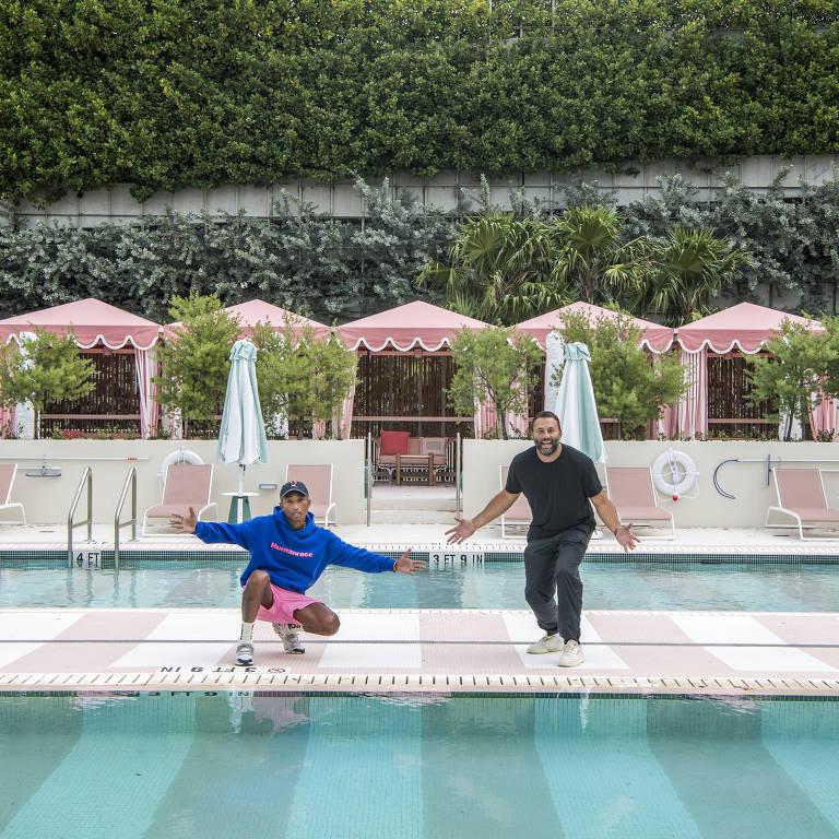 Pharrell Williams inaugura hotel de luxo