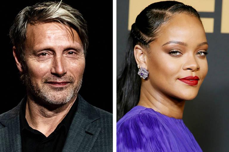 Mads Mikkelsen, de 'Hannibal', diz que guardou unhas postiças de Rihanna
