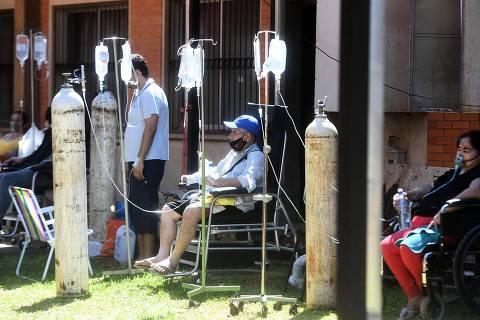 Covid explode no Paraguai e sistema de saúde entra em colapso