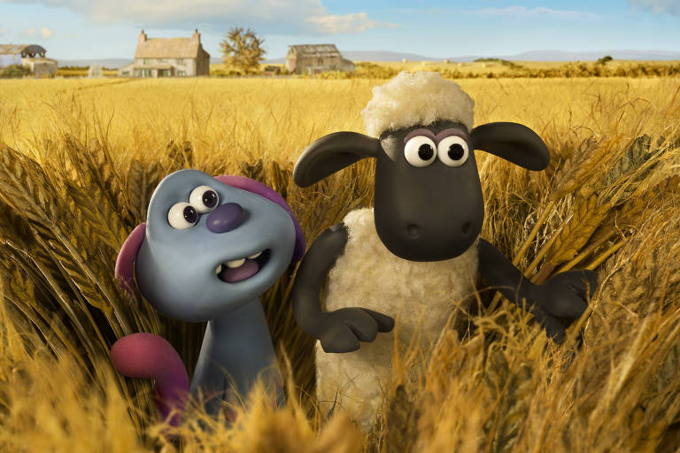 "Filme ""Shaun the Sheep - Farmageddon"""