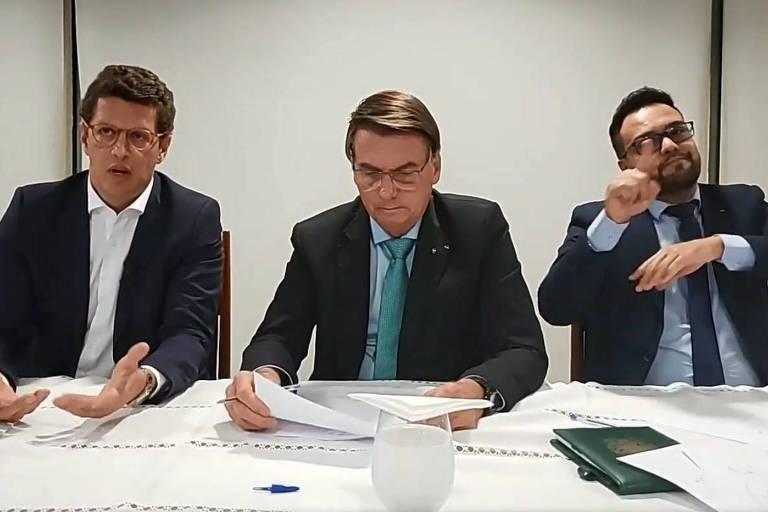 Após Cúpula do Clima, Bolsonaro diz que críticas ao Brasil não se justificam