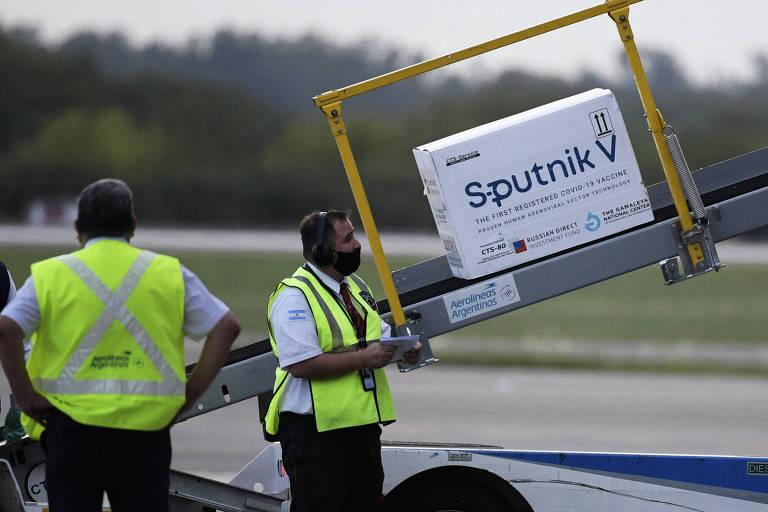 Há preconceito com a Sputnik só porque é vacina russa, diz governo argentino