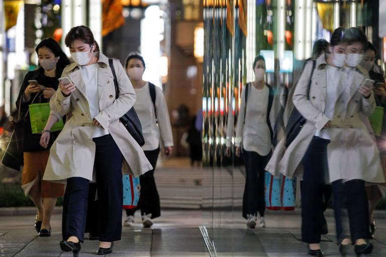 Ásia mergulha na pandemia, com Japão se juntando à Índia