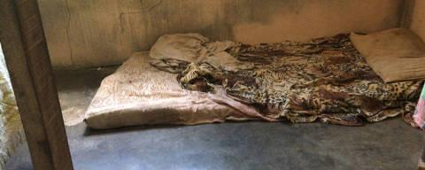 Rio de Janeiro, 21.04.2021, Justiça decreta prisão preventiva de mãe e madrasta de menina torturada em Porto Real,Local onde a criança dormia  (  Foto: Isabelle Magalhães/TV Rio Sul )
