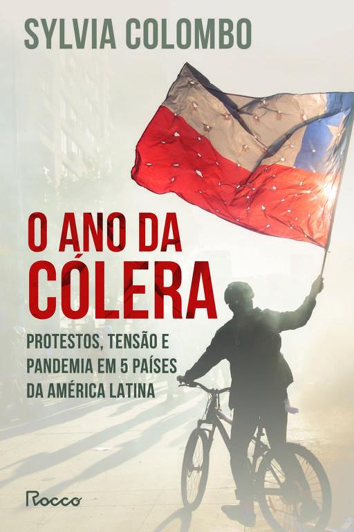 """Capa do livro 'O ano da cólera"""", de Sylvia Colombo"""