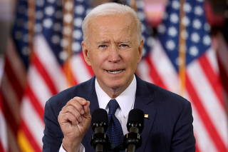 FILE PHOTO: U.S. President Biden holds infrastructure event at Carpenters Pittsburgh Training Center in Pittsburgh, Pennsylvania