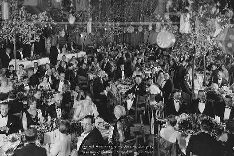 Primeira cerimônia do Oscar, em 1929
