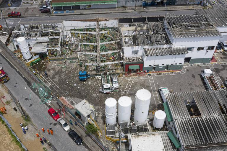 Explosão dentro de empresa de oxigênio em Fortaleza deixa feridos