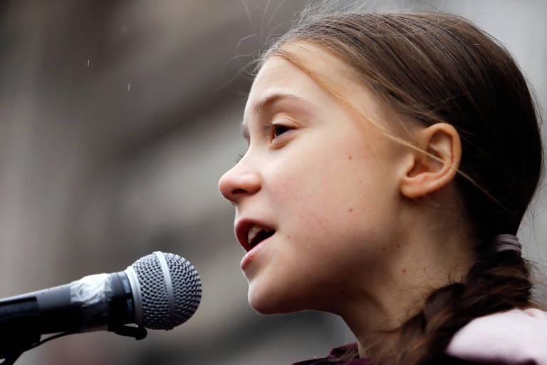 Greta diz que Bolsonaro não leva clima a sério após corte de verba para ambiente