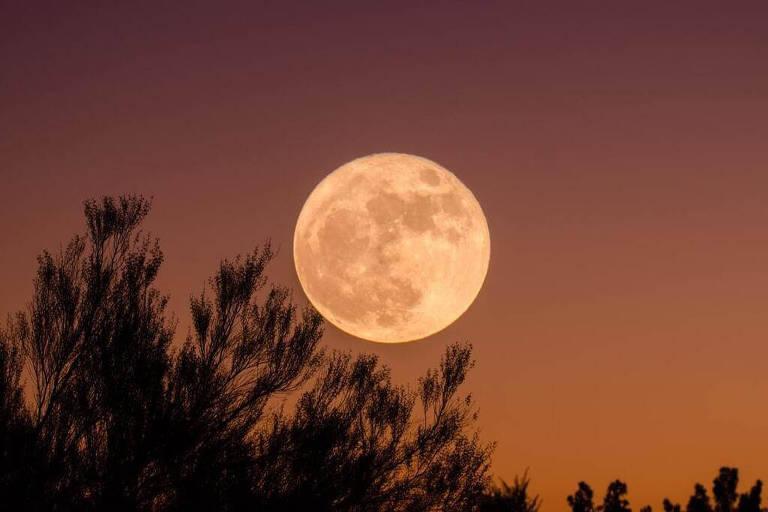 Superluas geralmente aparecem cerca de 7% maiores que uma lua cheia típica
