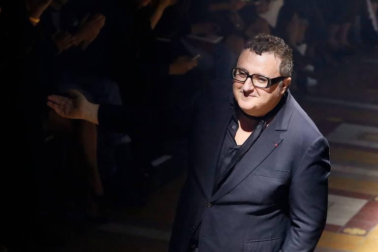 O estilista Albez Elbaz, em setembro de 2014