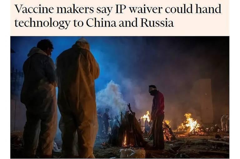 Sob pressão, EUA cedem à Índia, mas não nas patentes