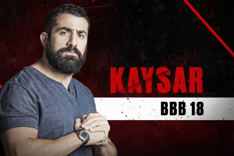Kaysar, participante do No Limite